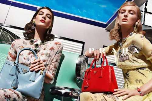 Смотрим яркий трикотаж от Prada фото
