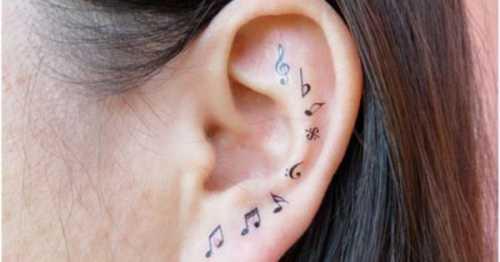 32 идеальных места для татуировки