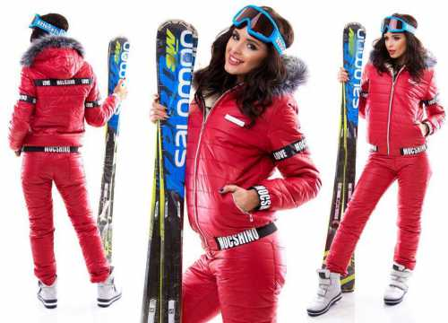 Женский зимний лыжный костюм