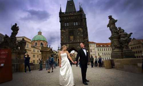 Свадьба в Чехии — начало счастливой семейной жизни