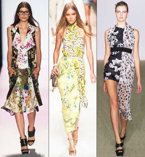 Что модно этим летом из платьев — лето 2013
