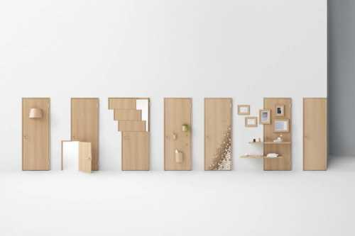 Необычные межкомнатные двери: лучшие работы дизайнеров
