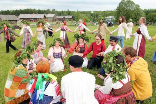 У славянских народов праздник