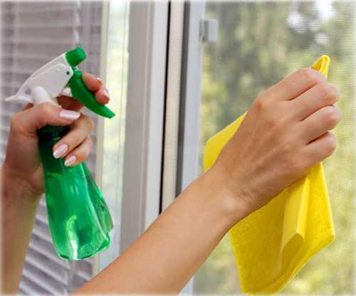 Как вымыть окна без разводов