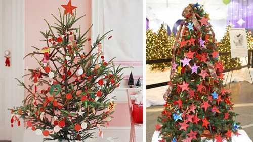 5 способов нестандартно украсить елку