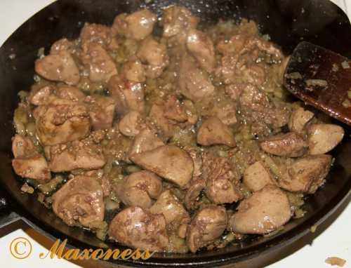 Рецепты куриной печени на сковороде, секреты