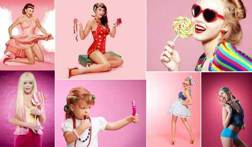 Образы для фотосессий для девушек