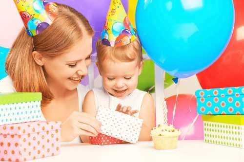 Выбор подарка для первого дня рождения
