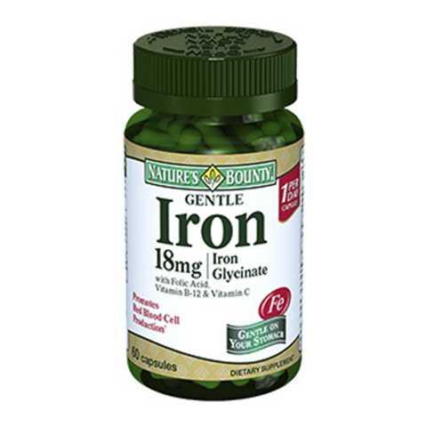 Пищевые добавки с железом и омега