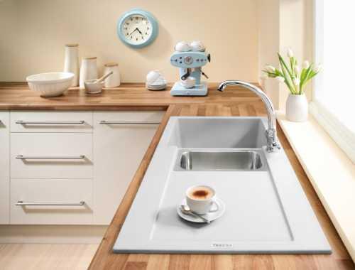 Внешний вид кухонной раковины, как она подойдет в общий интерьер кухонного пространства