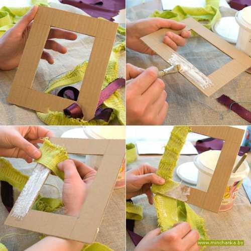 Рамка для фотографий своими руками: как сделать