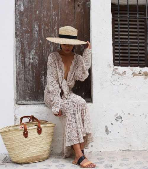 С чем носить соломенную шляпу: модные советы, которые нужно повторить