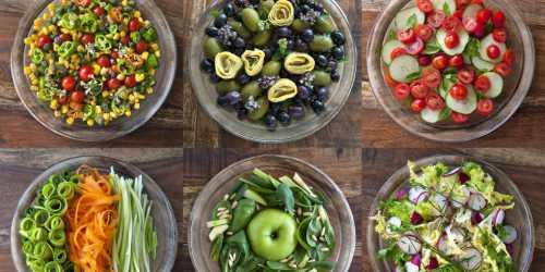 Салаты — вкусная, полезная, разнообразная еда