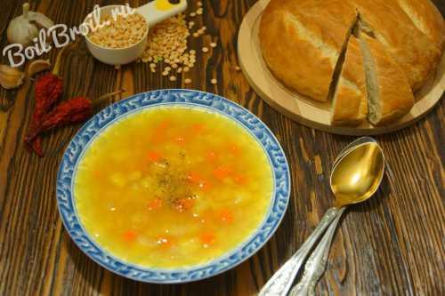 Рецепты горохового супа без мяса, секреты выбора