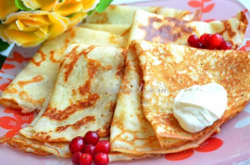 Диетические блины: простые секреты вкусного блюда